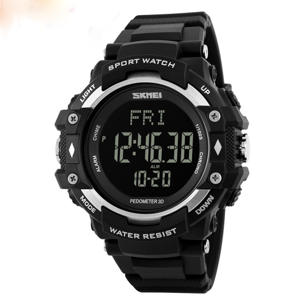 Luxury Brand New Mens Watch Men HeartRate Monitor Calories Digital Display Outdoor Sports Watches Reloj hombre <font><b>SKMEI</b></font> <font><b>1180</b></font> ZK30 image