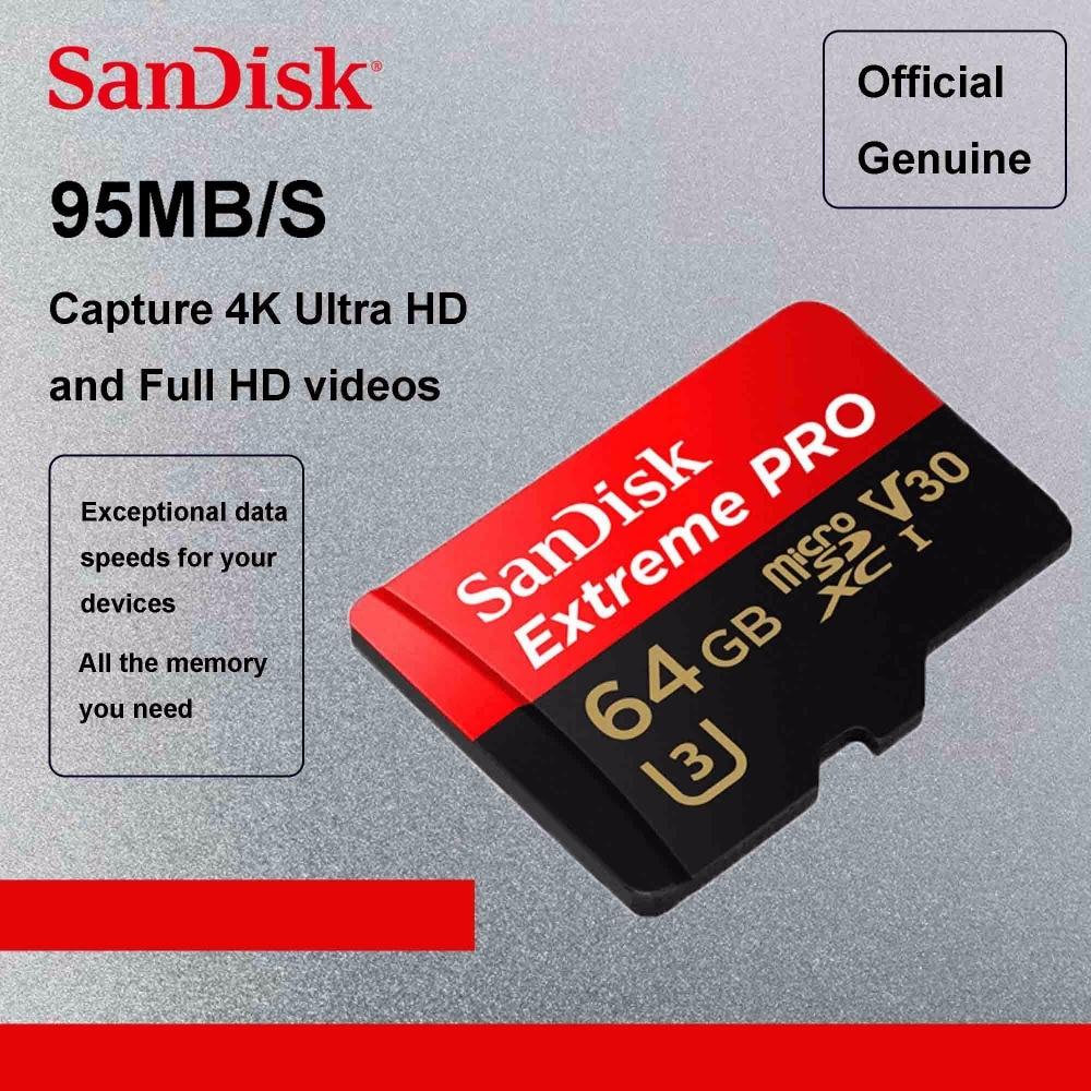 SanDisk Extreme Pro 128GB microSDXC microSD Memory Card