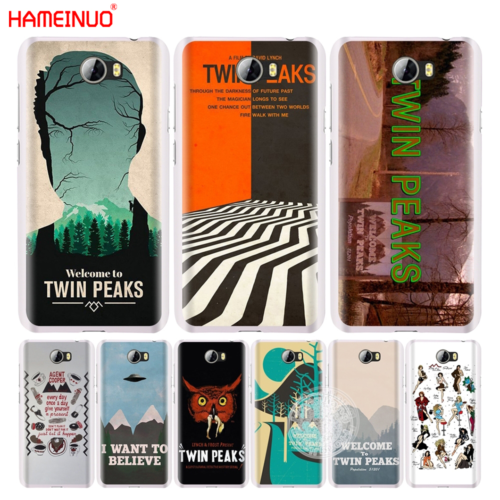 HAMEINUO Welcome To Twin Peaks cell phone Cover Case for Huawei Honor 5A LYO-L21 5.0 inch 6A 6C 6X 9 NOVA PLUS lite Y3 ii 2