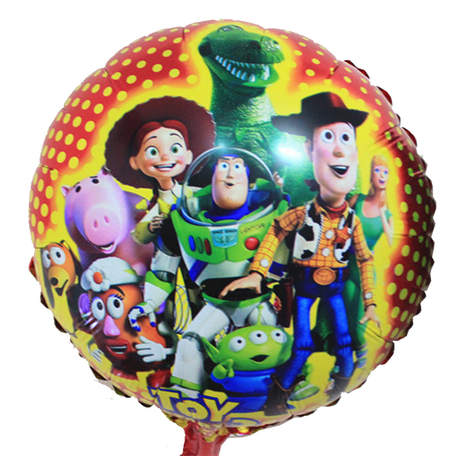 pulgadas de helio inflable foil globos de dibujos animados fiesta de cumpleaos decoracin suministros juguetes