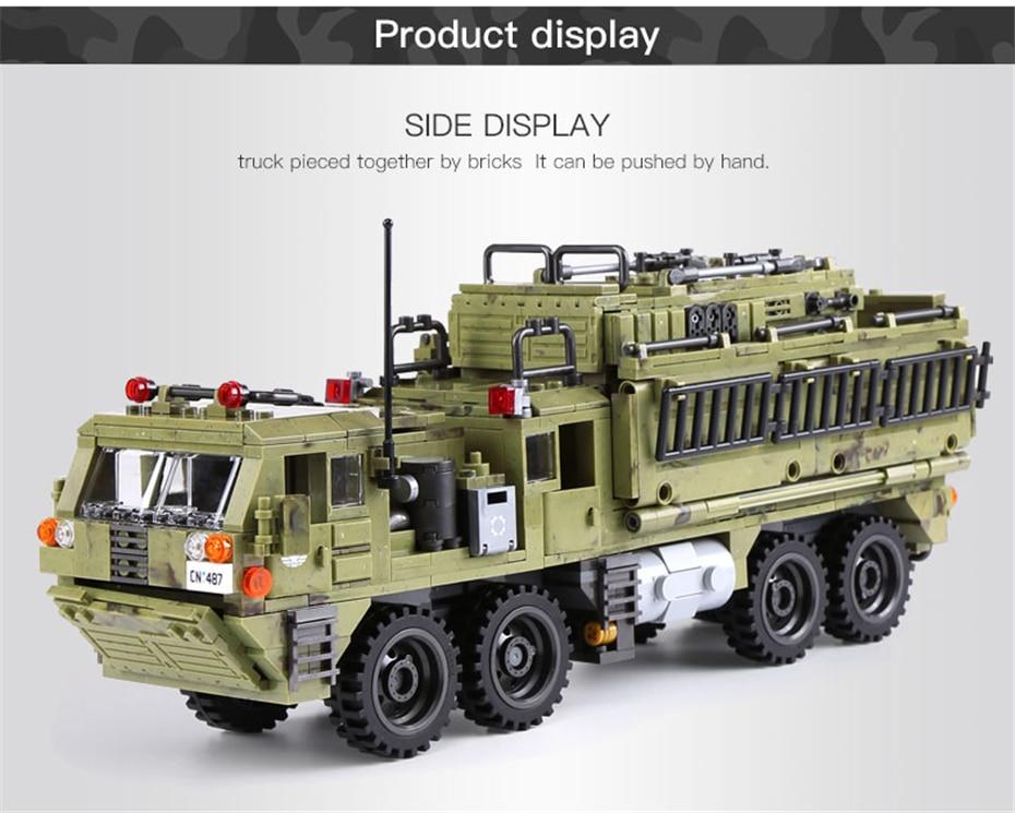 XINGBAO Scorpion Heavy Truck  Building Blocks New 1377 PCS Free Ship US Seller