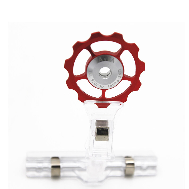 US $1.52 10% OFF|11T Ultralight MTB Aluminum Alloy Bike Bearing Jockey Wheel Rear Derailleur Pulleys|Bicycle Derailleur| |  - AliExpress