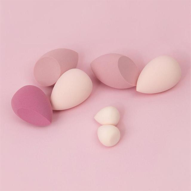 Beauty Makeup Sponge Blenders - Ultra-Soft Latex-Free Foundation Cream Concealer Blender 7pcs/pack 6