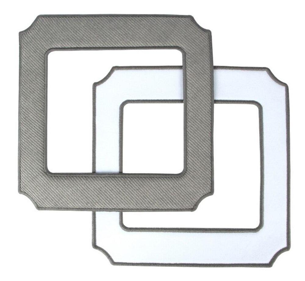 все цены на Microfiber Cleaning Pads for ECOVACS WINBOT W850 Cleaning Window Cloth Pad for Window Robot 2pcs онлайн