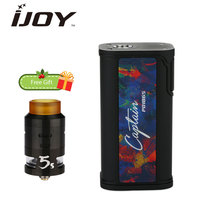 225W Original IJOY Captain PD1865 TC Kit With 2 6ml RDTA 5S Tank Huge OLED Screen