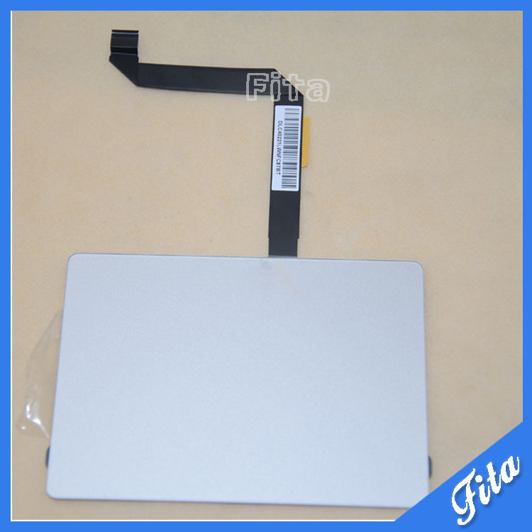 923-0438 593-1604-B Trackpad with Cable For Macbook Air 13 A1466 MD760 Trackpad Touchpad with Cable Mid 2013 wholesale price for macbook air 13 a1466 2013 touchpad trackpad with cable brand new original by dhl fedex