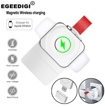 Original Egeedigi For Apple Watch series 1/2/3/4 Portable Magnetic Wireless Charger 2A Max Fast Universal SmartWatch