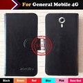 ¡ Caliente!! General 4G Caso Móvil del Precio de Fábrica 6 Colores Dedicado Cuero Exclusivo Para General 4G Cubierta Del Teléfono Móvil + de seguimiento