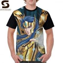 цены на Knights Of The Zodiac T Shirt Camus- God Cloth T-Shirt Man Graphic Graphic Tee Shirt Funny Short-Sleeve 4xl 100 Polyester Tshirt в интернет-магазинах