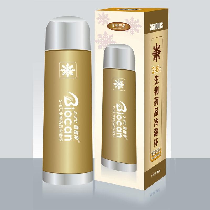 Portebla Insuline Refrigerator Insuline Cooler Voyage Flask  Pill Cases Box Small Fridge For Diabetes Insuline Pen36-72 Hours