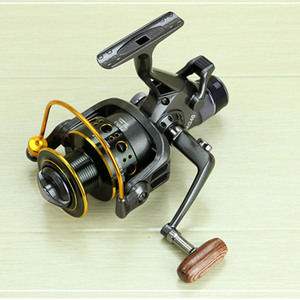 Image 2 - YUMOSHI 5.2:1 10+1 BB Front and Rear Drag Spinning Reels 3000 4000 5000 6000 Fishing Reels