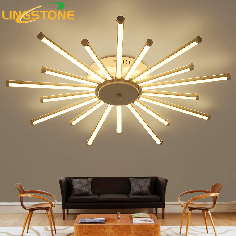 Ceiling lights led lamp ceiling lustre remote control dimming ceiling lights led lamp ceiling lustre remote control dimming lighting fixture living room bedroom dining room restaurant in ceiling lights from lights arubaitofo Choice Image
