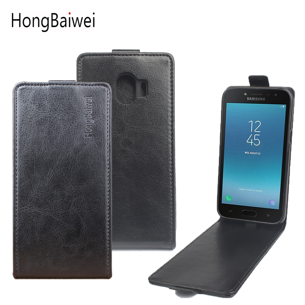 Высокое качество для samsung Galaxy J2 Pro 2018 чехол новый оригинальный кожаный флип для samsung J2 Pro крышка телефон оболочки случаях принципиально сумки