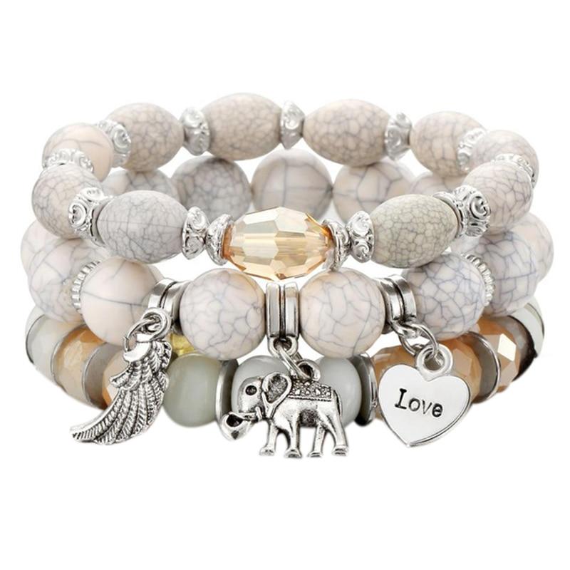 3Pcs/Set Boho Bracelet 19071008