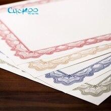 Купить онлайн Кукушка DIY верстки ретро печати бумага есть оттенок и frame a4 бумага для печати скопируйте сертификат 25 листов/сумка бумаги