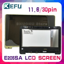 KEFU For ASUS E205SA E205S laptop LCD Screen E205SA M116NWR4 LCD display + Touch Digitizer Screen Assembly with frame цена 2017
