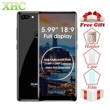 Купить онлайн OUKITEL MIX 2 5,99 дюймов смартфонов 6 ГБ + 64 ГБ двойной задней камерами отпечатков пальцев ID Android 7,0 Octa Core LTE 4 г Dual SIM мобильный телефон