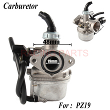 Motorcycle Carburetor For keihi PZ19 19mm 50cc 70cc 90cc 110cc 125cc ATV Dirt Bike Go Kart Carb Choke Taotao