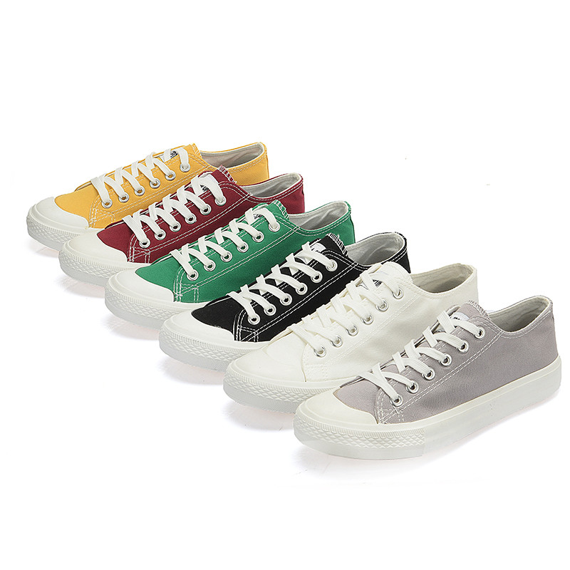 Mens Shoes White Black Sneakers Men Casual Canvas Breathable Shoes Men Youth Classic Shoes Zapatillas Hombre Casual Trainers in Men 39 s Casual Shoes from Shoes