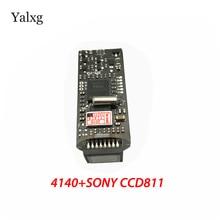 Аналоговая камера Sony 960H 1/3 CCD сенсор 700TV линии цвет проводной мини пуля камера Модуль видеонаблюдения 960 H 4140 + 811  810