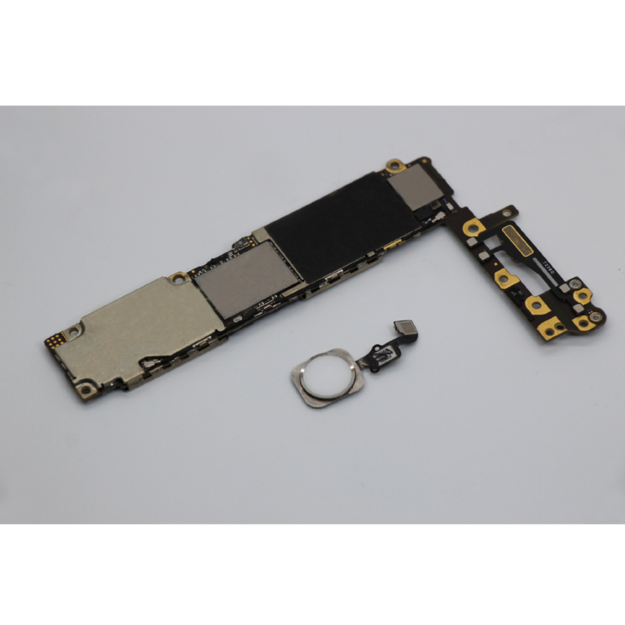 For iphone 6 4.7 inch Motherboard with Touch ID,100% Original unlocked for iphone 6 Mainboard with Full Chips,16GB 64GB 128GB