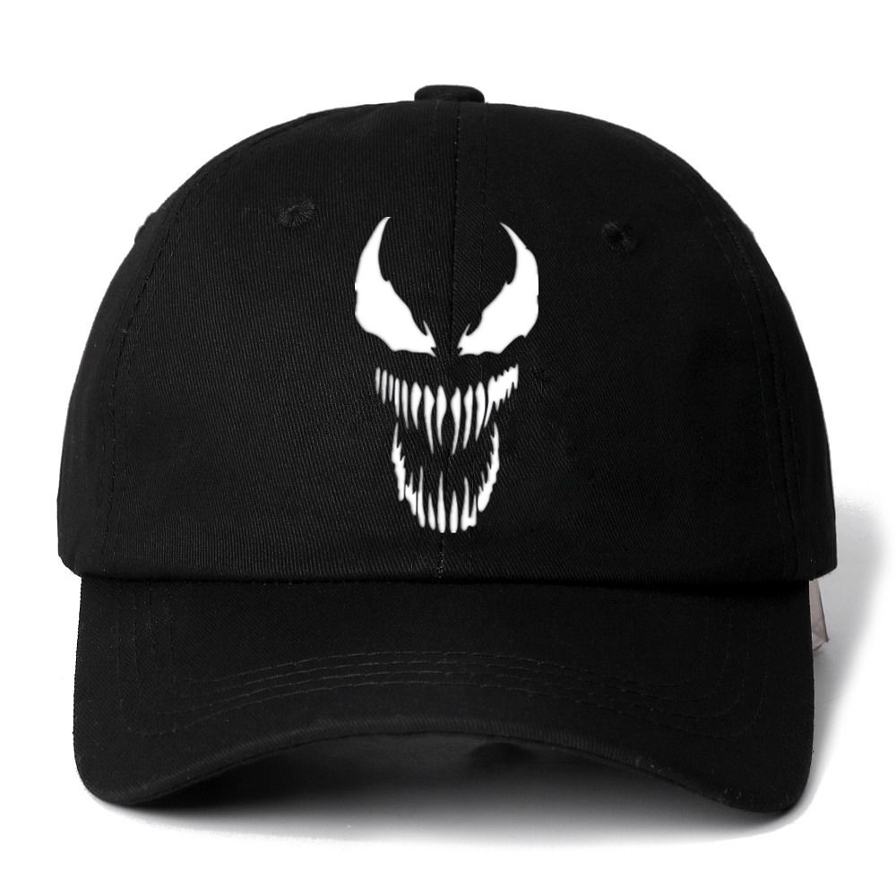 Dropshipping Eminem Venom Snapback   Cap   Cotton   Baseball     Cap   For Men Women Adjustable Hip Hop Dad Hat Bone Garros Casquette