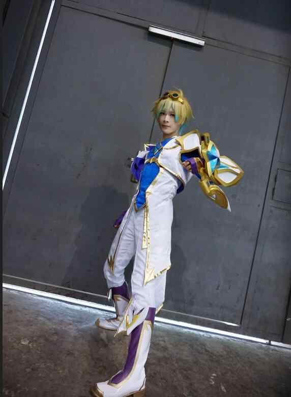 Juego LOL Ezreal Cosplay Star Guardian Cosplay disfraces EZ Cos el Prodigal explorador disfraz completo vestido