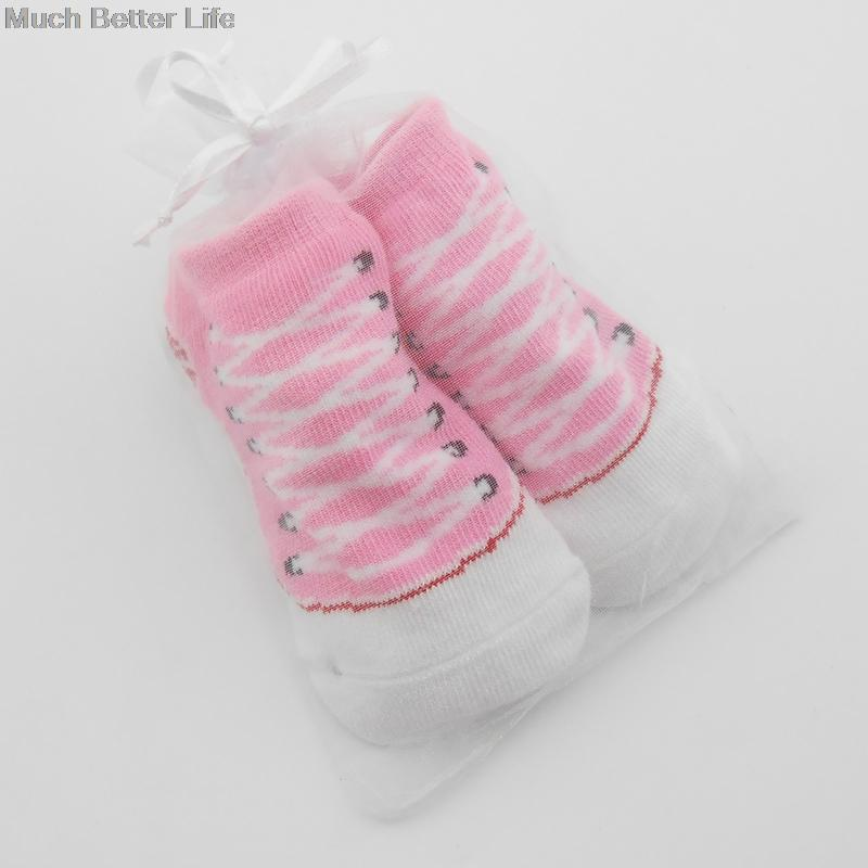 New Cute Cotton Newborn Baby Infant Bebe Anti slip Fake Converse Floor Shoe  Rubber Sole Slipper Socks Boys Girls 0-12 months e31d7ddbef8e