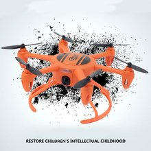 Gteng T907W 2.4G rc Mini Drone with Fixed Height Wifi Real-time Transmission Foldable Headless Mode rc Quadcopter Drone toy Gift