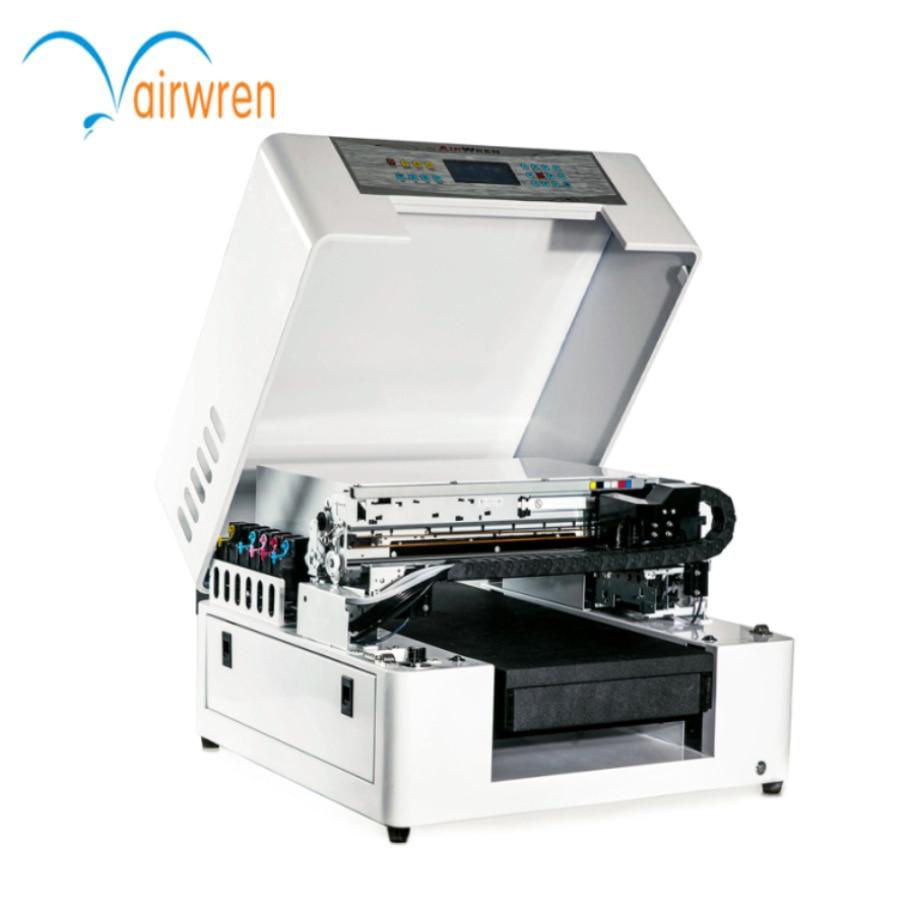 2017 нови продукти дърво стъкло метал акрил pvc плосък UV принтер със система за водно охлаждане