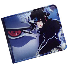 Japanese anime wallets Naruto/Attack on Titan/Gintama/Fate/Death Note credit card holder  Bifold Wallet With Coin Pocket