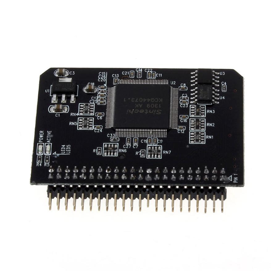 Vente SD SDHC SDXC MMC Carte Mémoire à IDE 2.5 pouce 44Pin Mâle Adaptateur Convertisseur #02