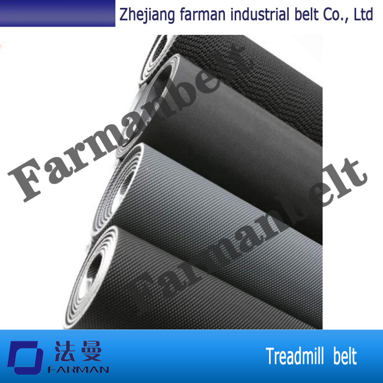 PVC treadmill belt/conveyor belt with 2.3mm thickness