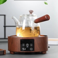 Induction cooker special pot boil tea dedicated cooker glass pot stainless steel liner kettle Steam tea pot