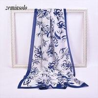 90*180 cm Mode Stijl Ontwerp Sjaals Voor Vrouwen Wrap Chiffon Geïmiteerd Zijde Sjaal Vrouwen Sjaals Zachte Dunne Shawl Bandana Hijab