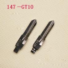 № 147 GT10 замена ключа лезвия для Fiat Iveco ключи заготовки с шкалой