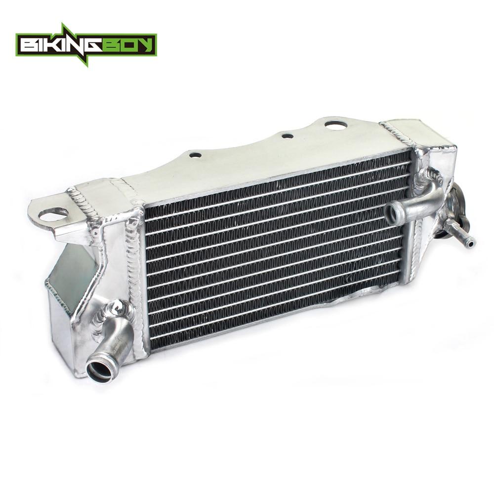 BIKINGBOY алюминий ядро МХ бездорожья радиатор охлаждения двигателя для Kawasaki KX80 KX85 KX100 KX драйвер 80 85 100 98 99 00 01 02 03 04 05-13