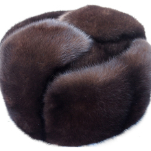 Осенняя и зимняя норковая Повседневная шапка, норковая шапка, меховая шапка lei feng, шапка из настоящего меха для мужчин
