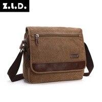 M094 Multifunction Vinatge Canvas Messenger Bags Designer Brand Men Fashion Crossbody Shoulder Bag Male Casual Large