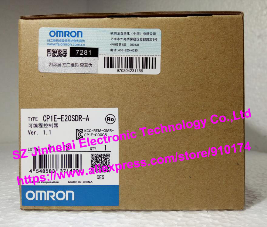 100% Authentic original CP1E-E20SDR-A OMRON Programmable controller (alternative CP1E-E20DR-A)