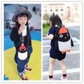 Kawaii sacos de Bebê unisex 2016 Moda das meninas dos meninos do jardim de infância mochila sacos de escola sacos de viagem mochila animal dos desenhos animados do pinguim