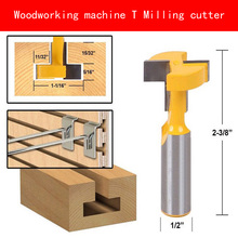 Woodworking machine Milling cutter T shape YG6X tungsten steel alloy machining wood
