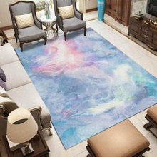 Starry Sky Carpets For Living Room Modern Luxurious Carpet Bedroom Sofa Coffee Table Rug Home Decor Study Rugs Goddess Floor Mat(China)
