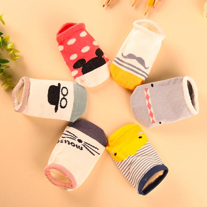 US $0 37 28% OFF|watermelon Korean manufacturers wholesale baby socks  cotton socks non slip floor asymmetry-in Socks from Mother & Kids on