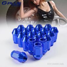 20PCS JDM Aluminum Racing Wheel Nuts P 1.25 X M12 D1 SPEC