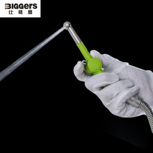 Высокое качество 7-отверстие Туалет Биде душевая головка распылитель мыть попой PP вагинальный очиститель ануса корпус ABS и латунь cardridge