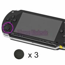 PSP1000 3 × 高品質3Dアナログジョイスティックキャップ用psp 1000ゲームコンソール交換17色オプション