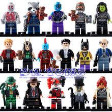 DR TONG Super Hero Guardians of the Galaxy Groot Raccoon Star Lord Peter Quill Penguin Barbara