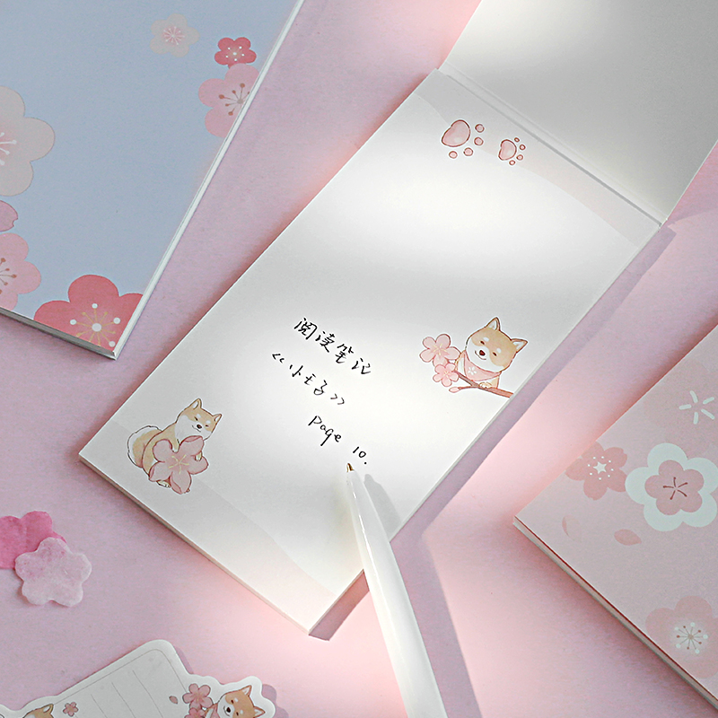 1Set Memo Pads Sticky Notes Kawaii Art Girl Diy Paper Notepad Iary Scrapbooking Stickers Office School Stationery Bookmark