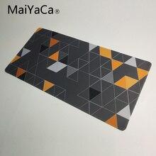 MaiYaCa коврик для мыши Steelseries, треугольные обои для мыши, большой игровой коврик для мыши и клавиатуры 900*400 мм